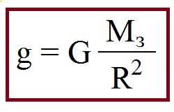 ускорение формула